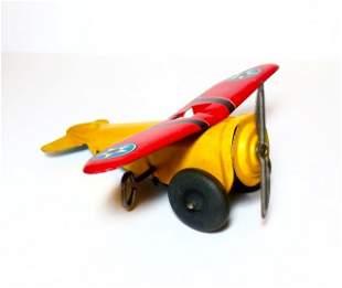 Marx Airplane Wind-up Tin Toy