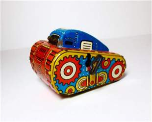 Marx Rollover Tank Wind-up Tin Toy