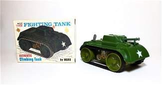 Marx Fighting Tank 462 Wind-up Plastic Toy