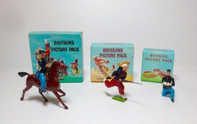 Britains Picture Packs #39B, #1326B, 1361B
