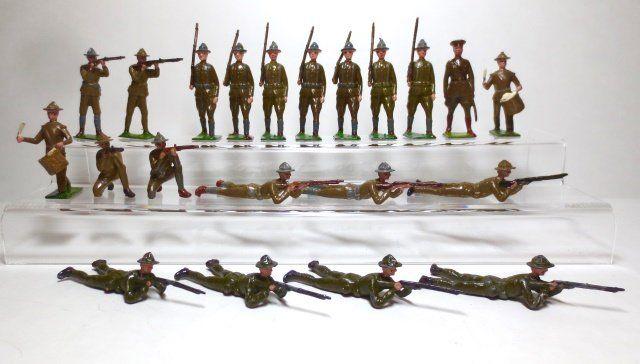 Britains U.S. Infantry Doughboy Assortment