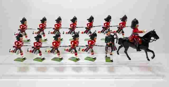Britains From Set #2062 Seaforth Highlanders