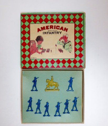 D.M. Co. American Infantry Boxed Set