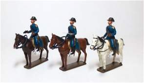 Mignot ACW Union Army Mounted Officers