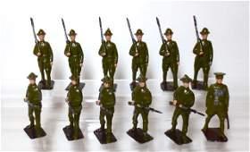 Britains US Infantry WW1 Assortment