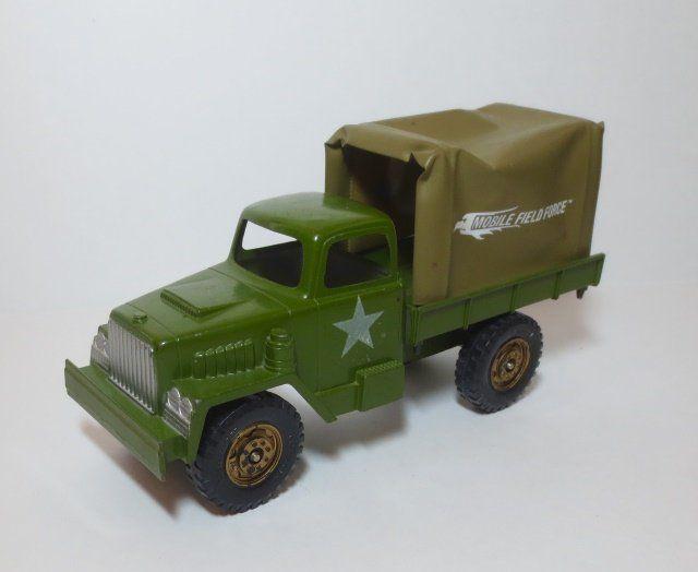 Hubley steel toy Mobile Field Force Truck