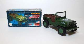Lotus US Army Willy Jeep Friction Toy