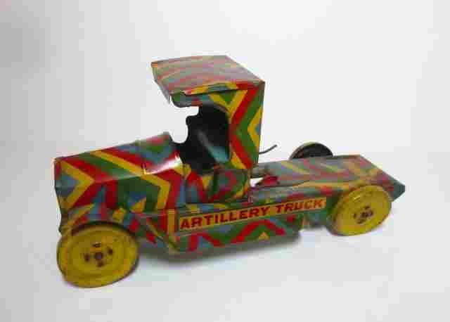 Unknown Maker Tin Artillery Truck