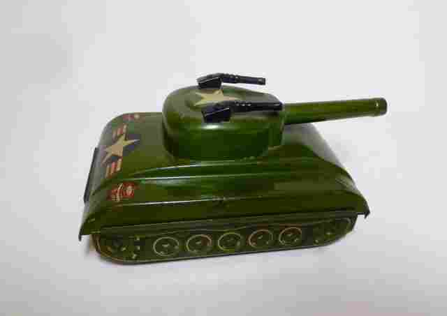 Japan Tin Friction Army Tank