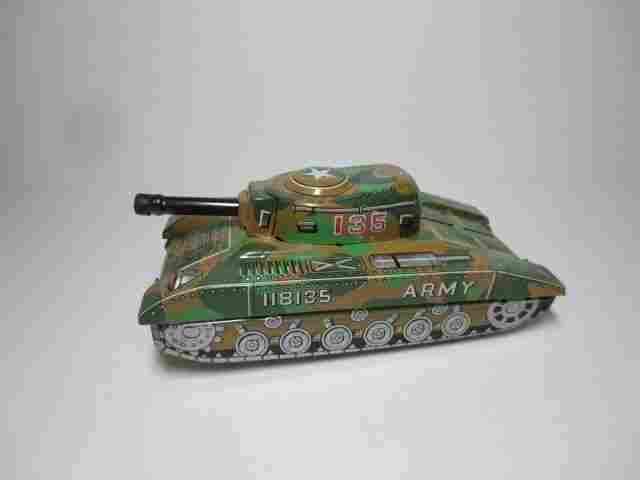 Harusame Tin Friction #135 Army Tank
