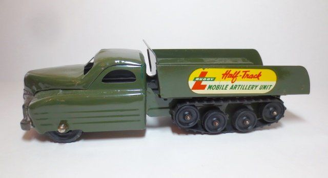 Buddy L Mobile Artillery Unit Half-Truck