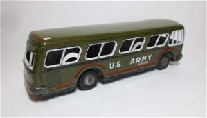 Japan Tin Friction US Army Bus