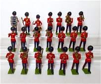 Britains Prewar Coldstream Guard Band Set 37