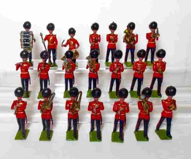 Britains Pre-war Coldstream Guard Band Set #37