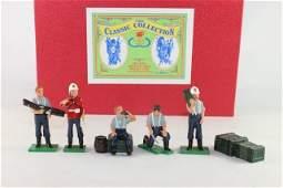 Trophy Miniatures EQ28A Unloading Supplies Zulu