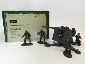 W Britain Set #17246 WWII German Flak Gun