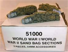 Britains WWI  WWII Sand Bag Section