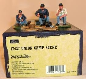 Britains American Civil War Union Camp Scene