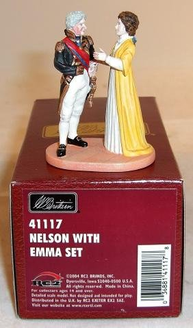 Britains Nelson With Emma Set
