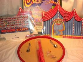 Britains Circus Set Crowd & Trapeze