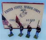 Britains US Marine Colour Guard No 2101