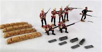 All the Queens Men Zulu War Collection