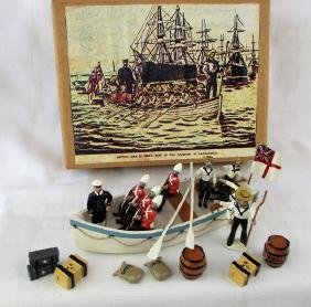 GBE Toy Soldiers British Naval Boat