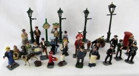 Huge Civilian Victorian Group Trophy Britains