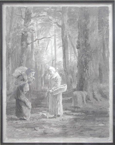 8: William Lathrop - Women in Woods