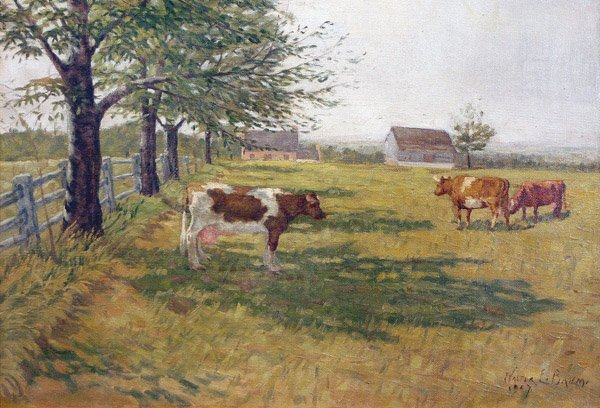 10: Walter Baum - Cows Grazing