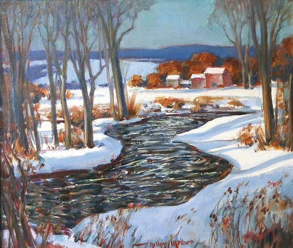 11: Arthur Meltzer - Winter Stream