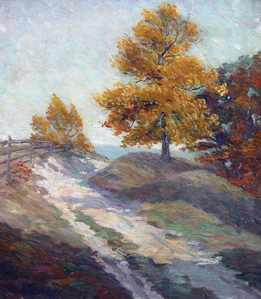 12: Kenneth Nunamaker - Bucks County Country Road