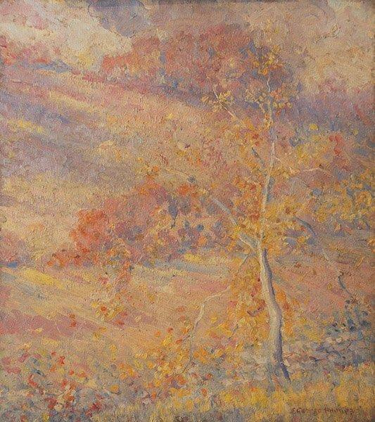 13: S. George Phillips - Impressionist Landscape