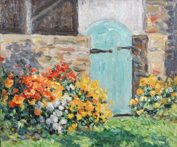 16: Henry Rand - Garden Gate
