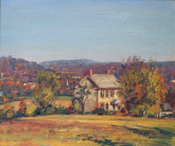 17: George Sotter - Bucks County Farmhouse
