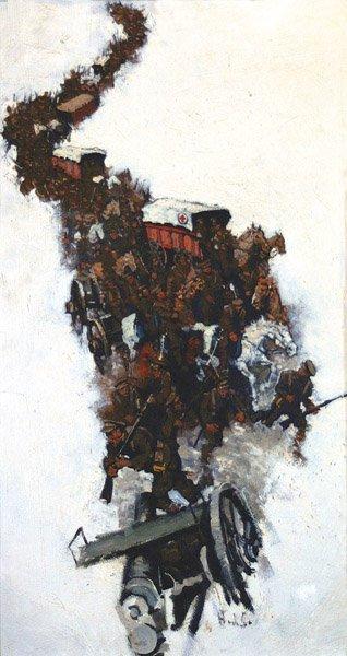 48: Henry Soulen - Military Scene