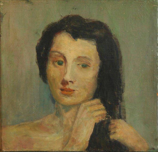 Raphael Soyer, Lady