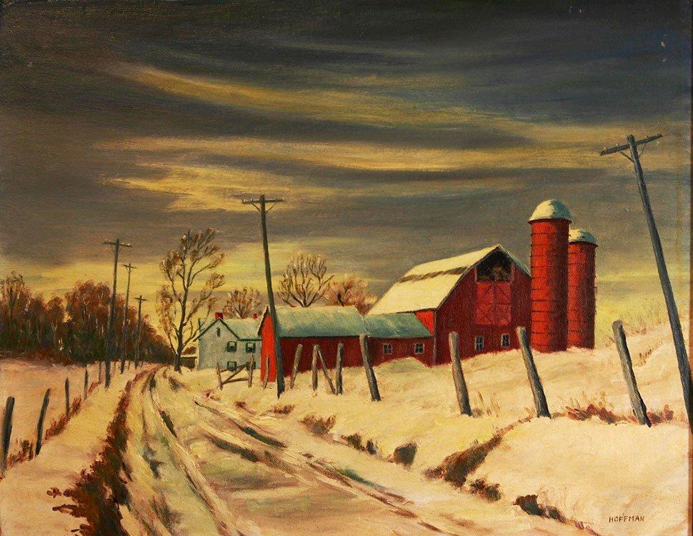 Ethel Hoffman, Farm in Winter