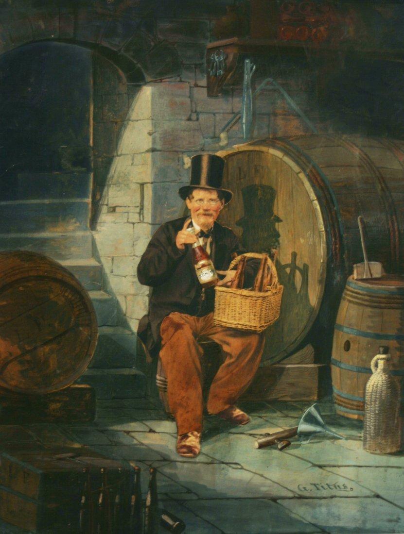 Gottfried (Godfrey) Titus, Wine Cellar