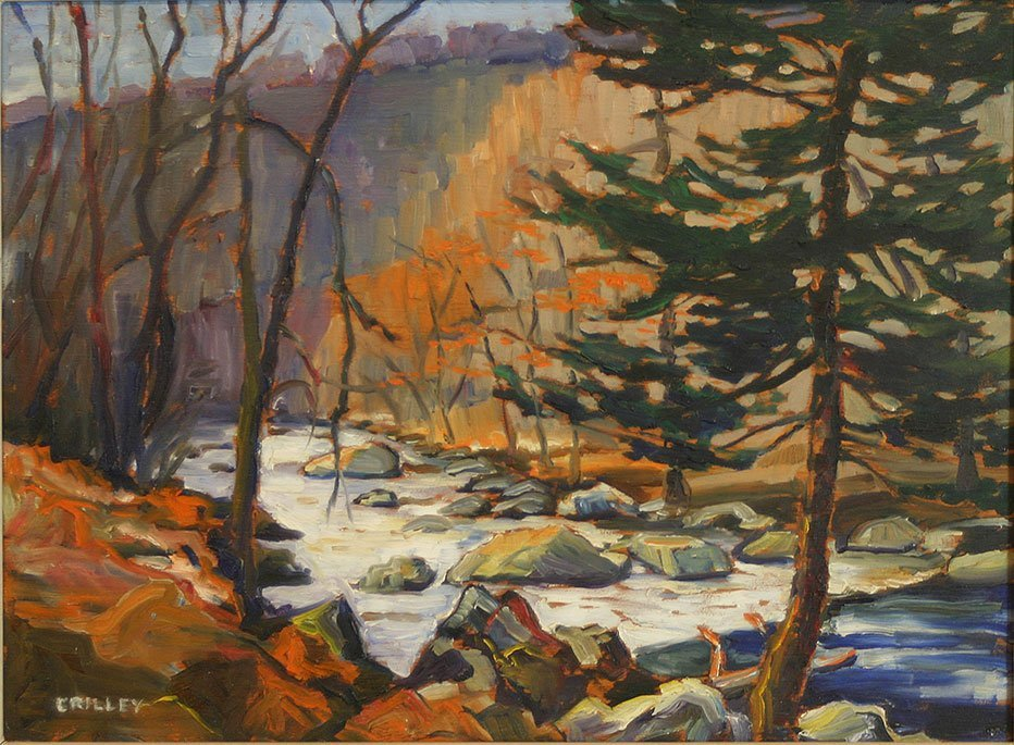 Joseph Crilley, Pine in the Woods