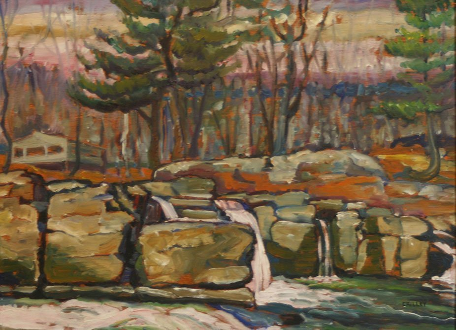 Joseph Crilley, Wooded Waterfall