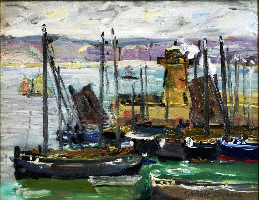George Gardner Symons, Wharf Scene