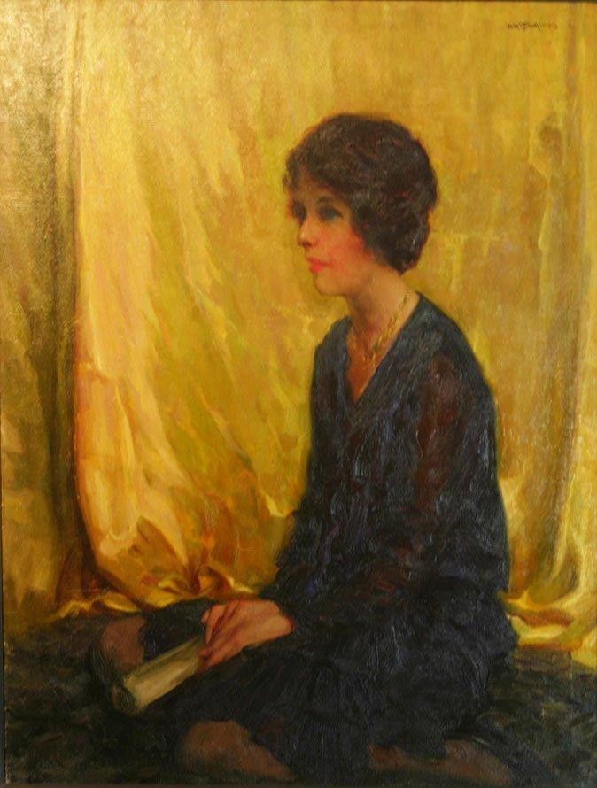 Henry R. MacGinnis, Jane Erwin, artist's wife