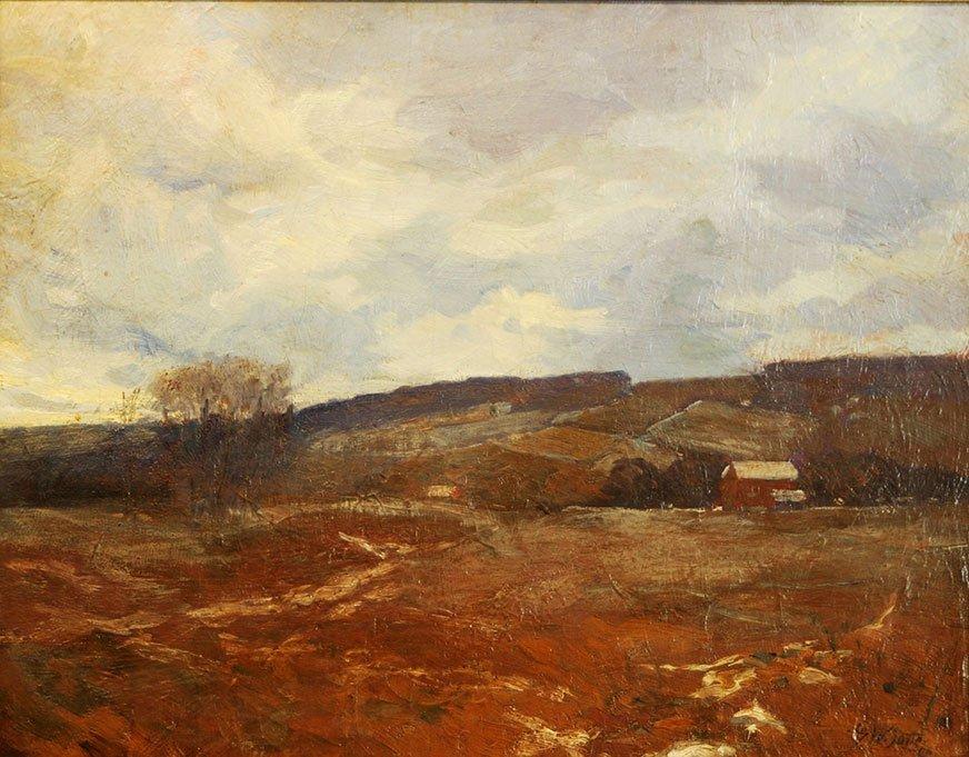 George William Sotter, Bucks County Farm Scene