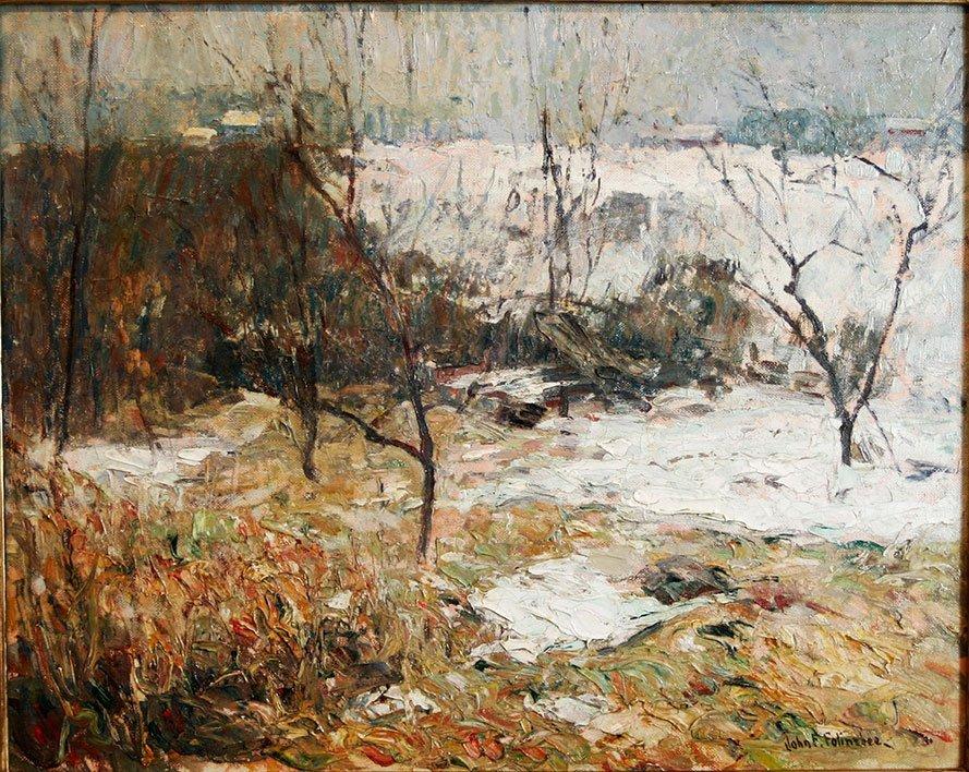 John Fulton Folinsbee, Peach Trees in Winter