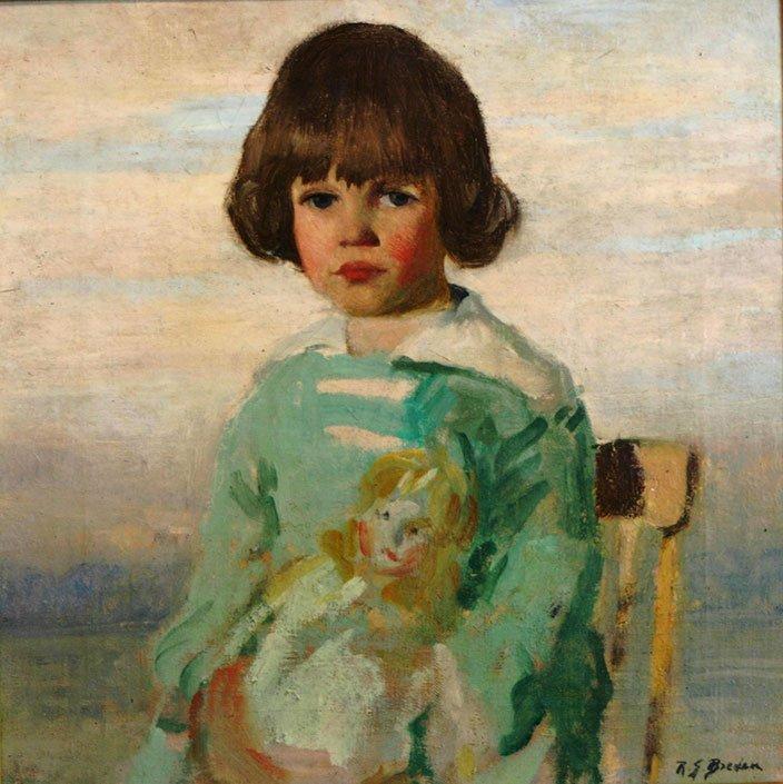 Rae Sloan Bredin, Jean with Doll