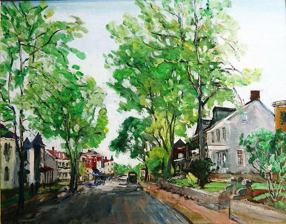 Walter Emerson Baum, State St., Doylestown