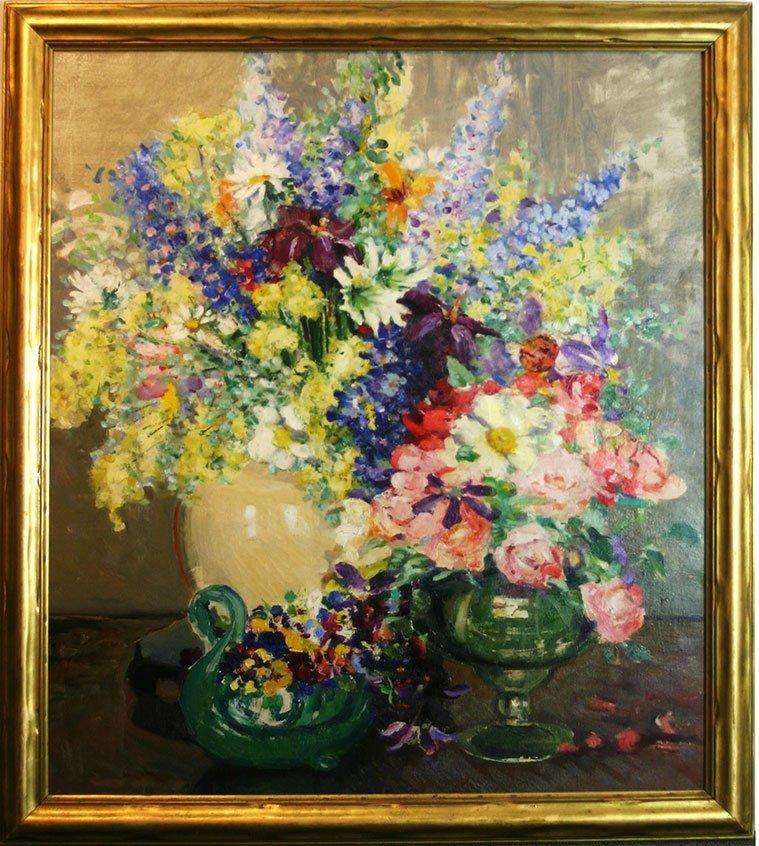 Cora Smalley Brooks, Floral Still Life
