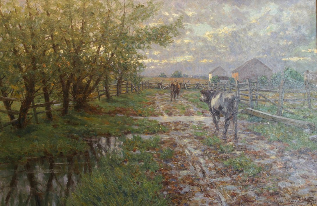 Charles Morris Young, Gettysburg Farm