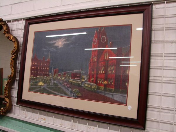 1: Downtown Anderson Print